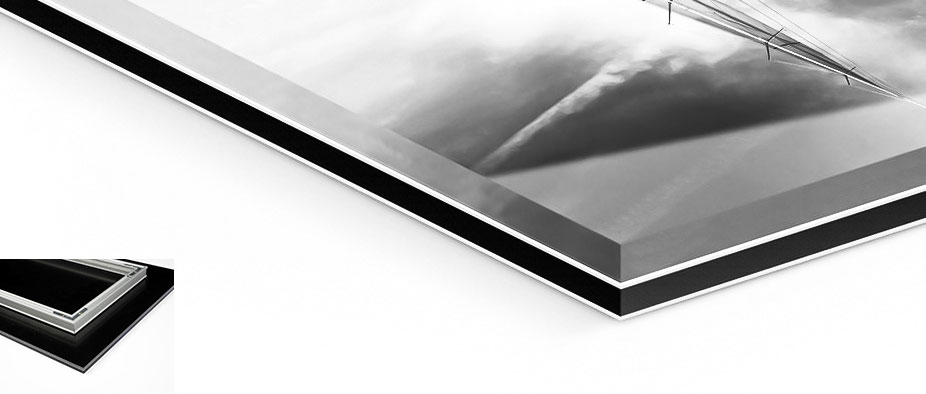 Verre acrylique + Dibond