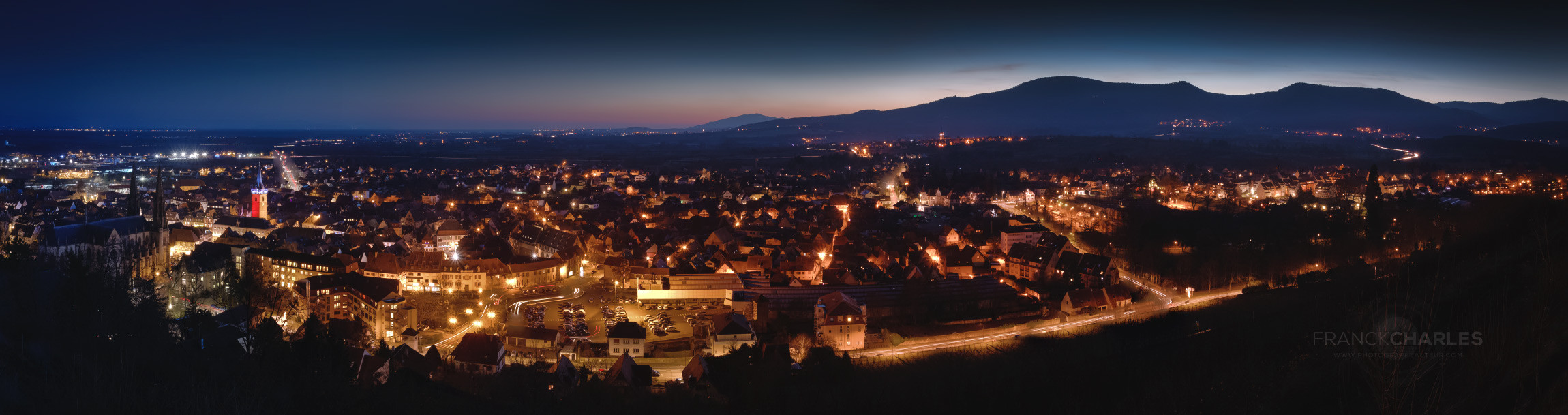 Obernai by night - Franck Charles