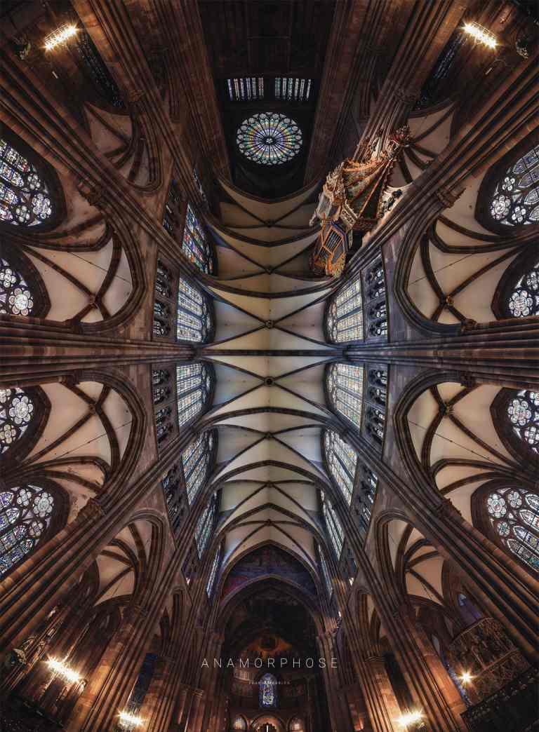 Notre Dame de Strasbourg - ANAMORPHOSE - Franck CHARLES