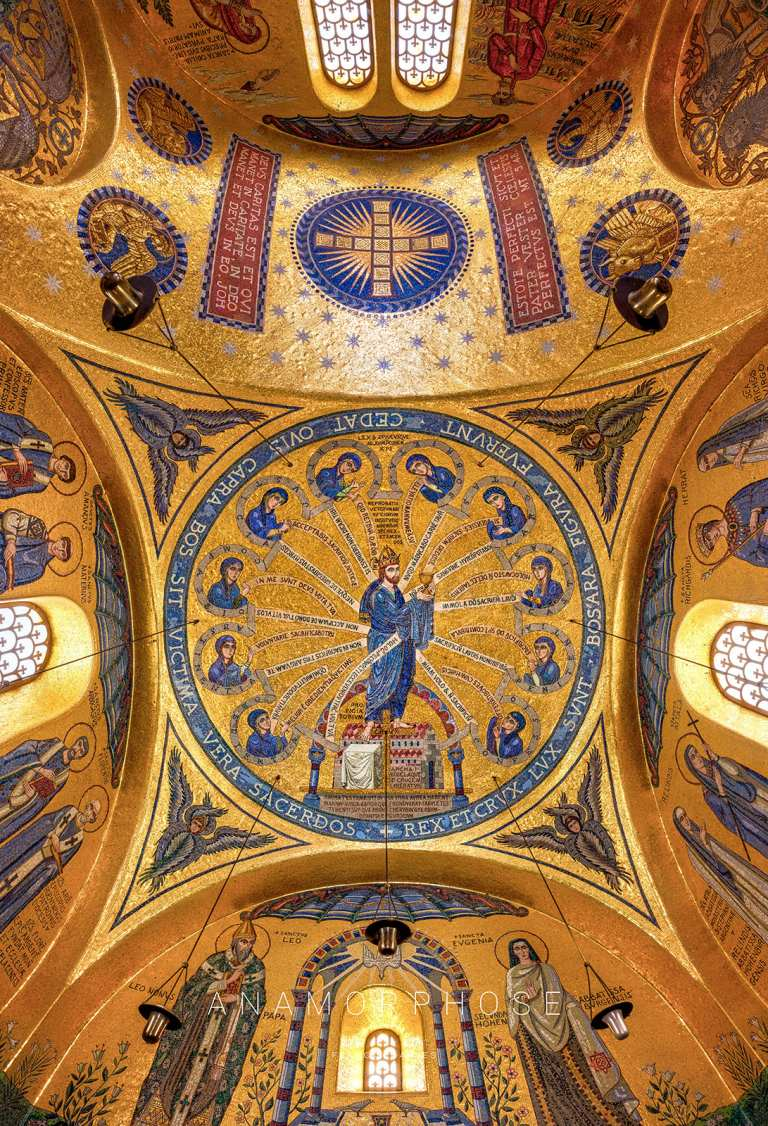 Chapelle des Larmes - ANAMORPHOSE - Franck CHARLES