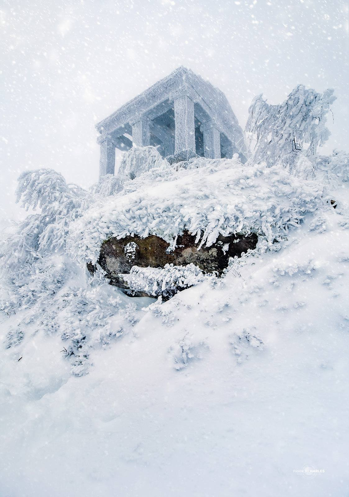Donon hivernal © Franck CHARLES