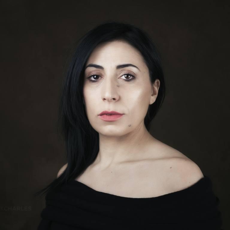 Portrait Giovanna - Franck CHARLES