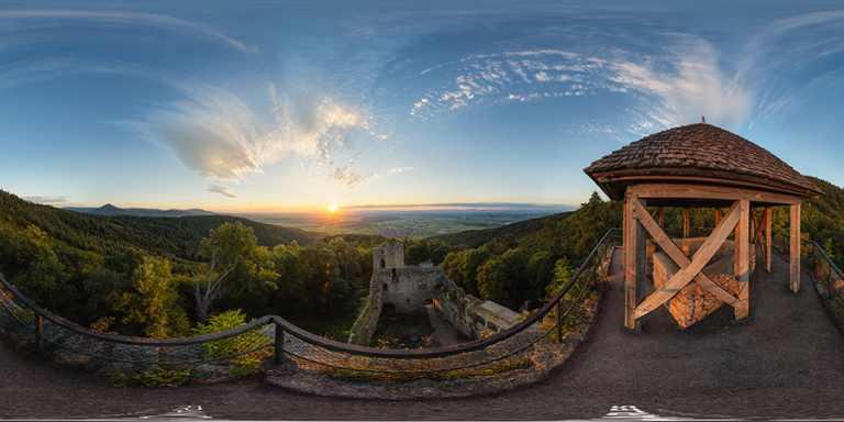 Château fort du Bernstein © Franck CHARLES